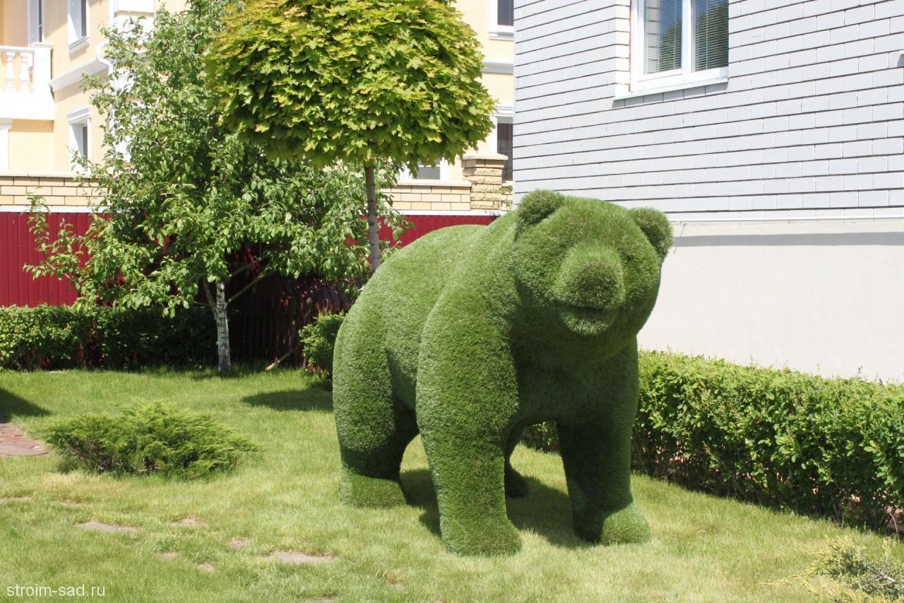 Топиарий садовые фигуры