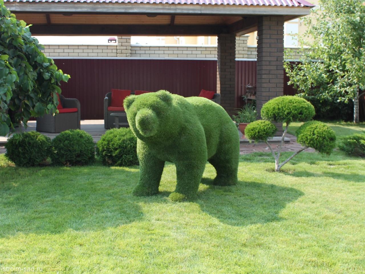 Садовые фигуры животных: формы, своими руками, мастер-класс 53
