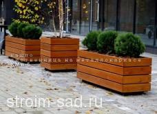 Деревянное кашпо КМЛ-5