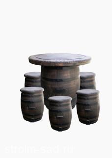Комплект мебели «Бочонки»