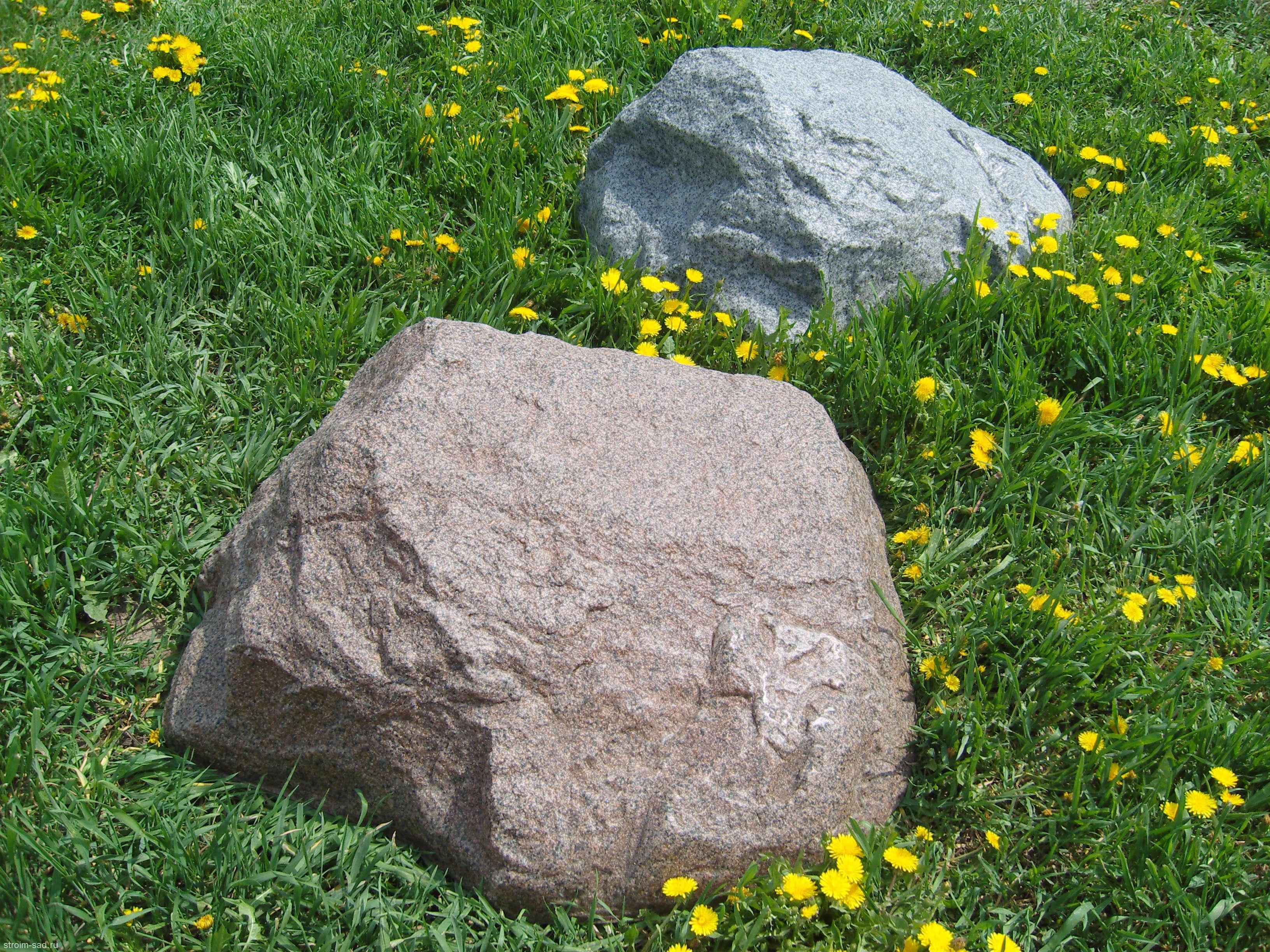 Искусственный камень-валун D-90 Люкс