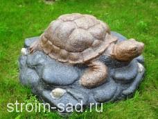 Искусственный камень-валун «Черепаха на камне» D-85
