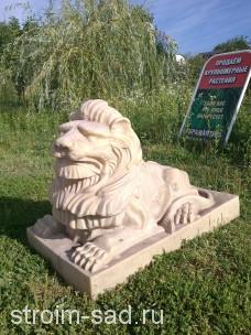 Гранитный лев «Премиум-Люкс»