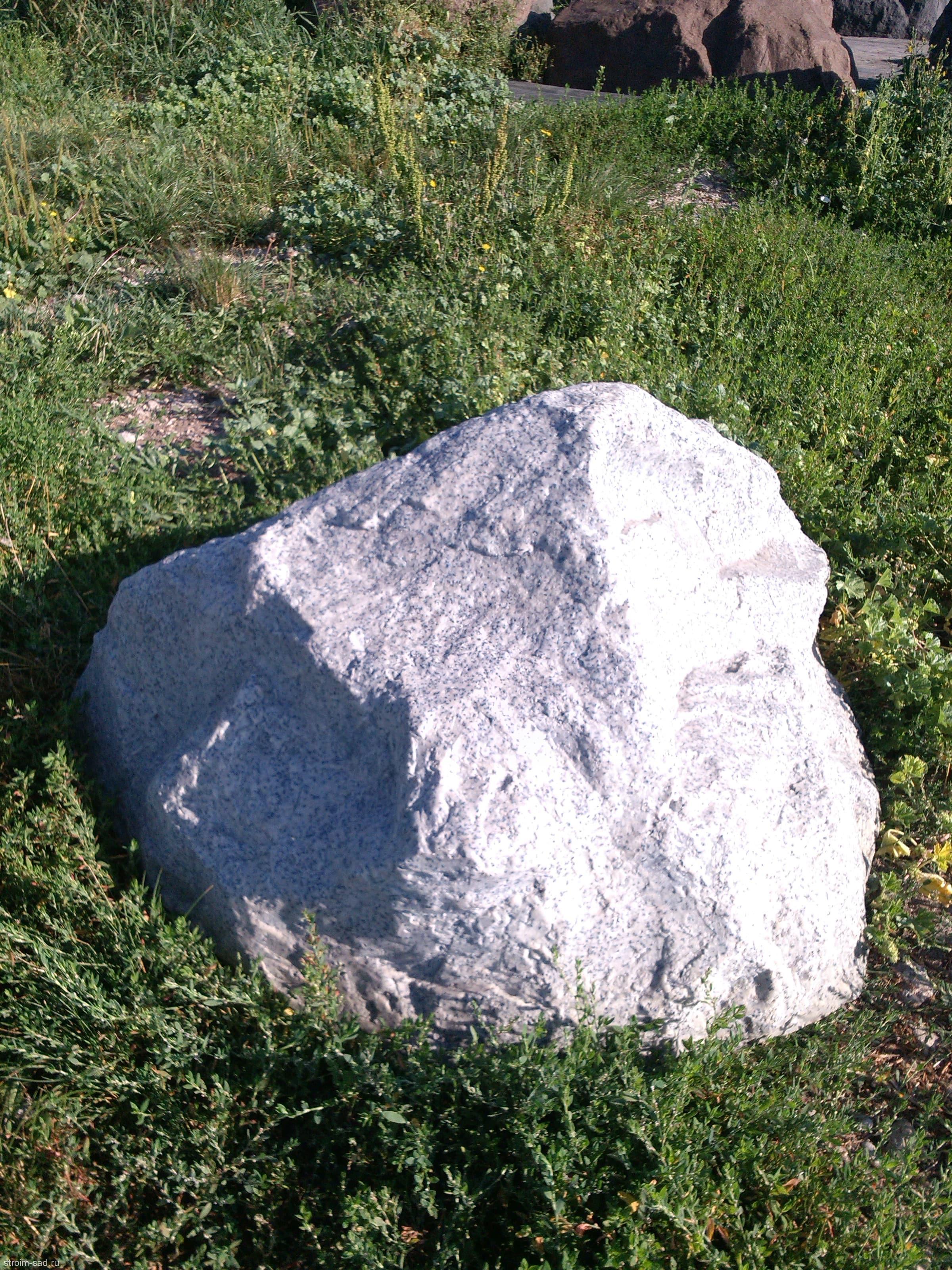 Искусственный камень-валун D-100 Люкс-Премиум