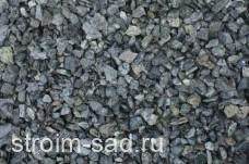Щебень декоративный зеленый (змеевик) фр. 10-20 мм.