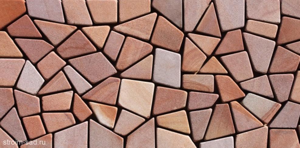 Песчаник брусчатка (Готика) art: PSK-L-01