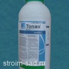 Топаз — фунгицид для защиты разновидных культур от болезней, 1 л, Syngenta