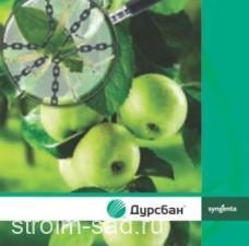 Дурсбан — инсектицид широкого спектра действия для борьбы с вредителями в сельскохозяйственных культурах, 5 л, Syngenta