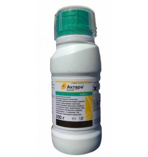 Актара, ВДГ (250 г) — инсектицид для защиты культурных растений от комплекса вредителей, Syngenta