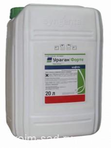 Ураган Форте — гербицид для борьбы с сорняками в сельском и лесном хозяйстве, 20 л, Syngenta