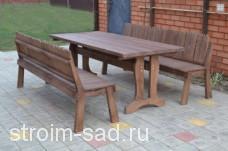 Мебель садовая Кантри 2х1м