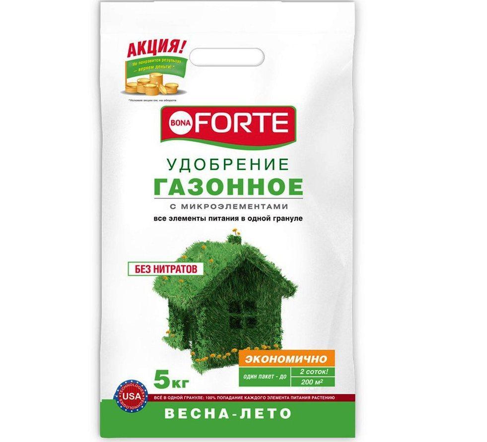 Бона Форте Газонное (весна-лето) смеш. удобрение 5 кг