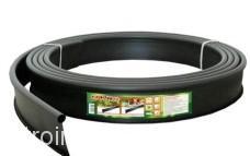 Бордюр Канта пластиковый черный 10 м