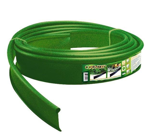 Бордюр Канта пластиковый зеленый 10м