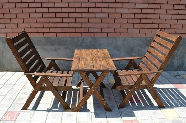 Садовая мебель для чаепития