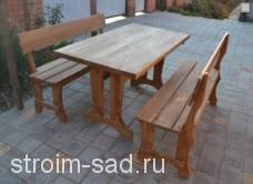 Мебель садовая Шале 1,5х1,0 м(без кресел)