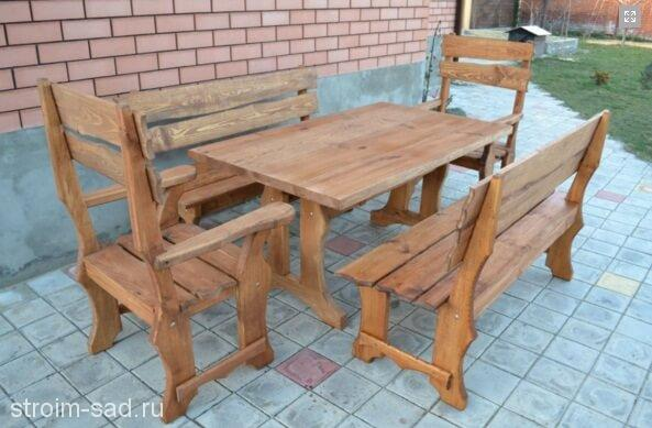 Мебель садовая Шале1,5х1 м