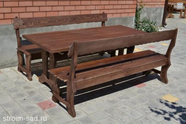 Мебель садовая Шале 2х1 м