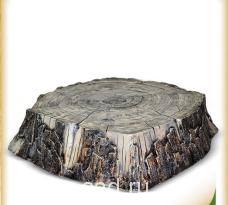 Искусственный камень-валун «Пень Средний » D-100