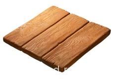 Плитка бетонная «Деревянные дощечки»46х46 см, шт