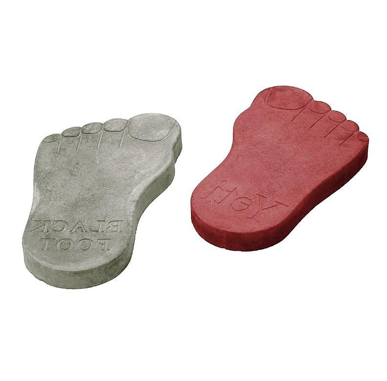 Плитка бетонная «След великана» 57х28 см, шт