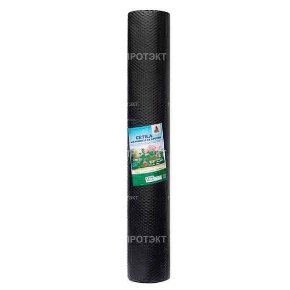Пластиковая сетка для защиты газона от кротов