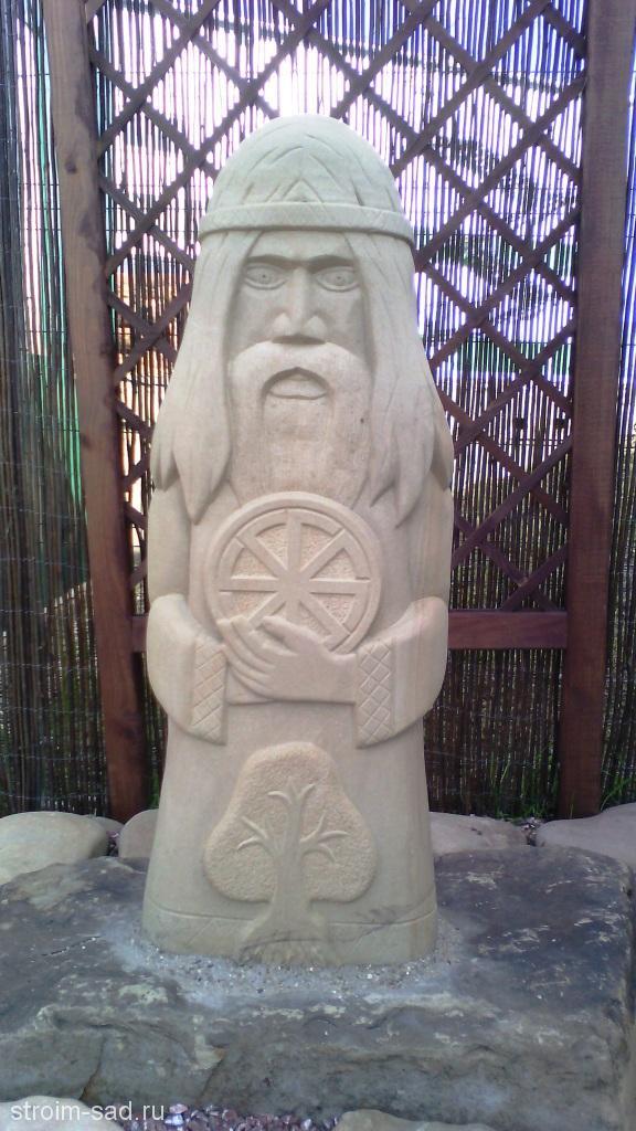 Скульптура каменная Бог Род, шт
