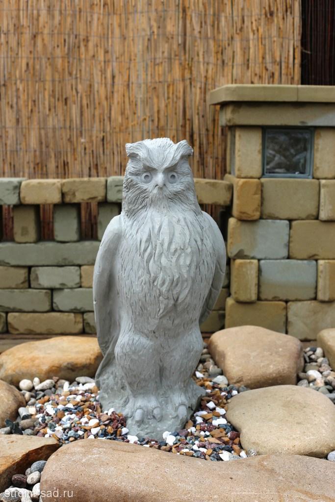 Скульптура Величественный филин, шт