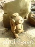 Каменная скульптура Обезьяна 2