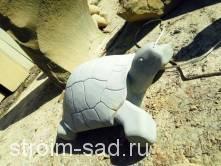 Каменная скульптура Черепаха