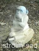 Каменная скульптура Обезьяна