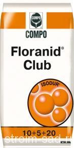 Удобрение газонное «Флоранид Клаб» (25 кг)