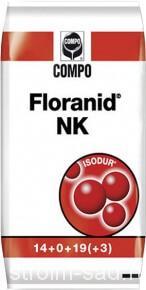 Удобрение газонное «Флоранид НК»(25кг)