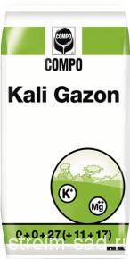 Удобрение газонное «Кали Газон» (25 кг)