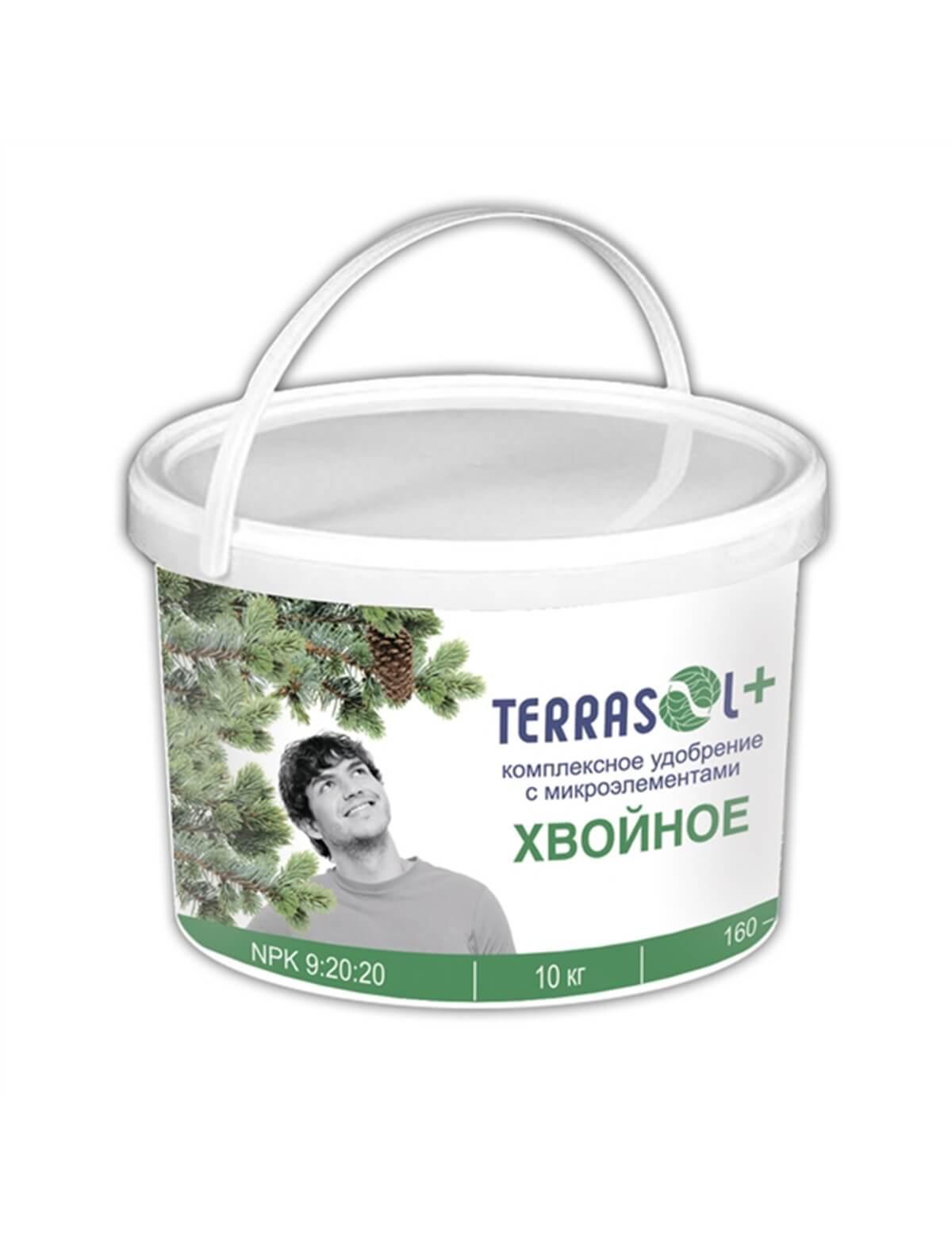 Удобрение для хвойных ТерраСол(TerraSol®)  10 кг