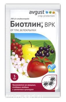 Биотлин 3 мл (тля,трипсы,белокрылка), шт