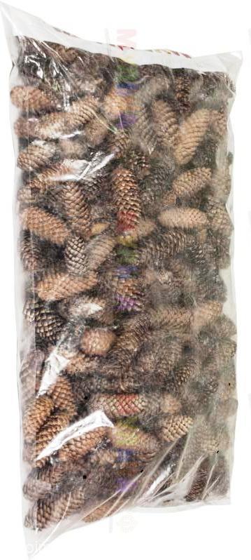 Шишки еловые, меш. 60 л