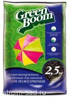 Удобрение сухое Грин Бум от пожелтения газона 2,5 кг