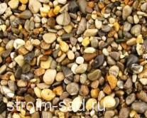 Галька речная (карамель) фр.5-20мм, меш. 25 кг