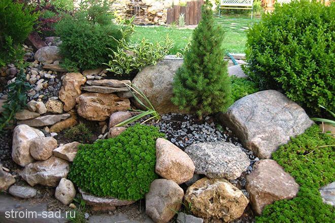 Природный камень и его применение в ландшафтном дизайне