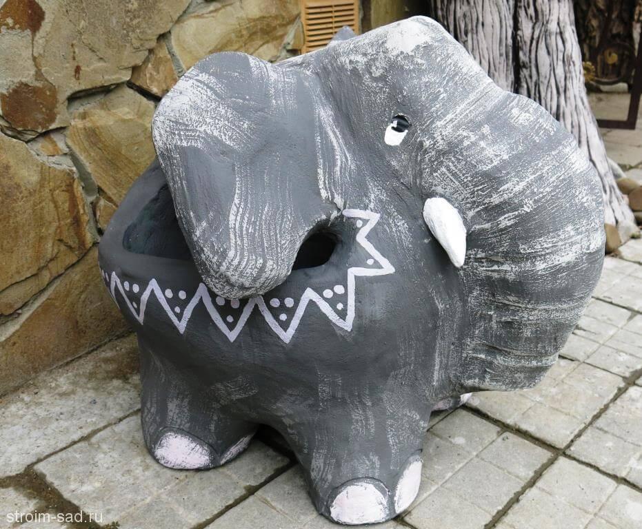 Авторская скульптура «Слоненок»