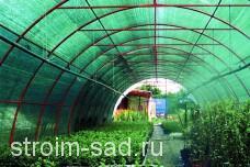 Как защитить растения от солнца: сетки для притенения